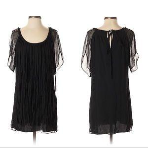 Monoreno Black Silk Dress
